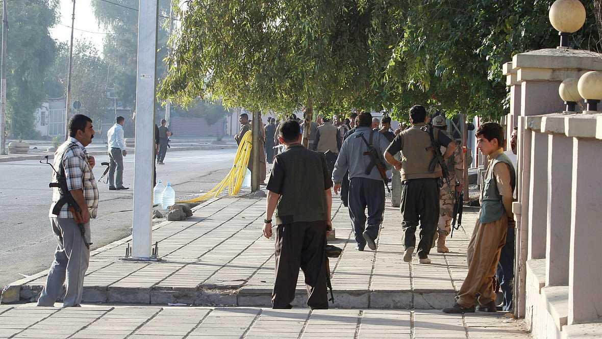 Diario de las 2 - El Estado Islámico utiliza familias enteras como escudos humanos - Escuchar ahora
