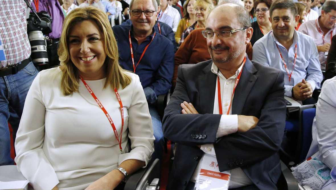 Informativos fin de semana - 14 horas - Fin a 10 meses de bloqueo político. El PSOE se decanta por facilitar el Gobierno a Mariano Rajoy - Escuchar ahora