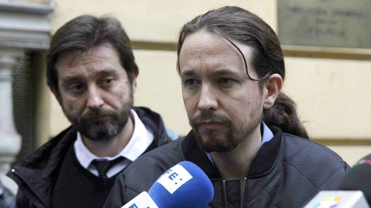 """Boletines RNE - Iglesias: """"Hoy ha nacido la gran coalición que buscaba Rajoy"""" - Escuchar ahora"""