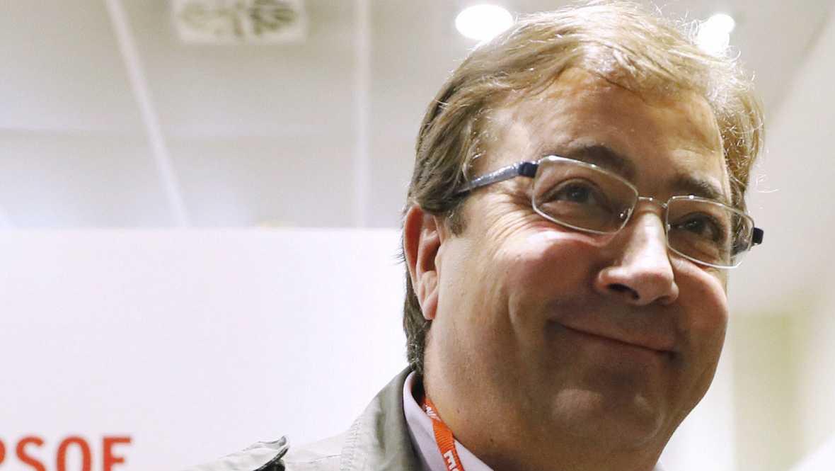 Boletines RNE - Fernández Vara advierte al PSC de que su postura tendrá consecuencias - 24/10/16 - Escuchar ahora