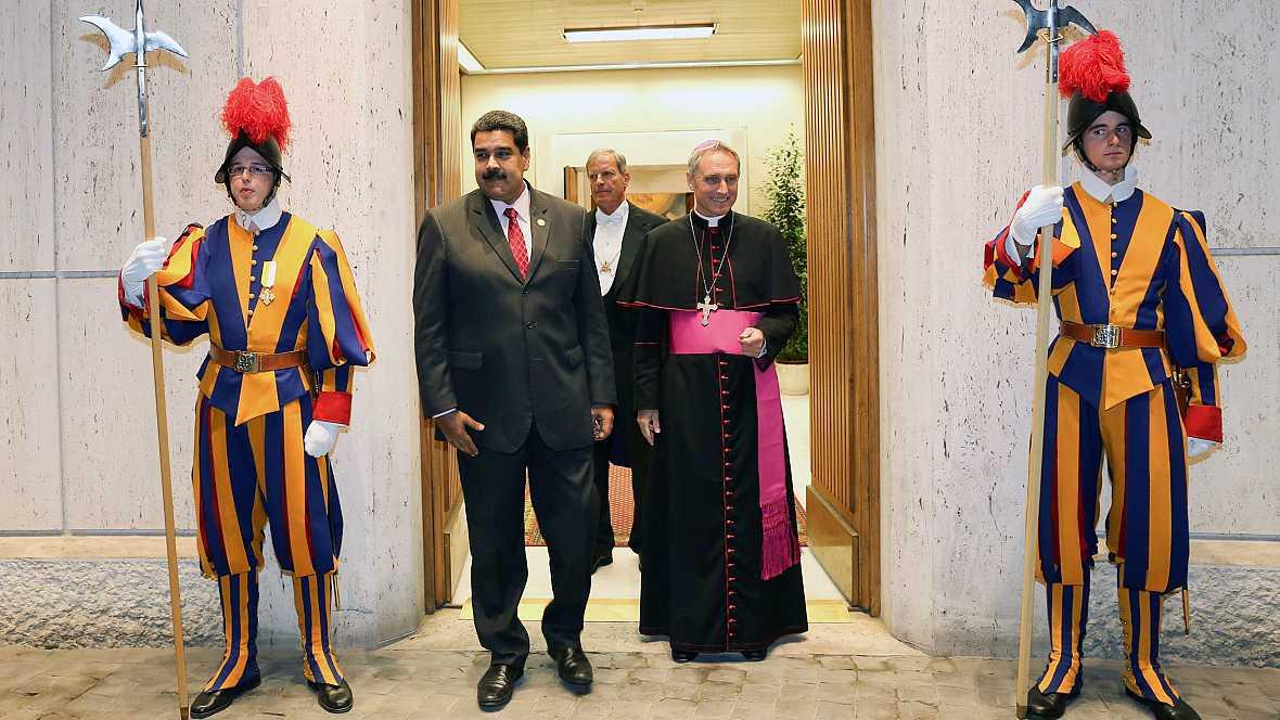 Las mañanas de RNE - La mediación del Vaticano permite el diálogo entre el Gobierno y la oposición de Venezuela - Escuchar ahora