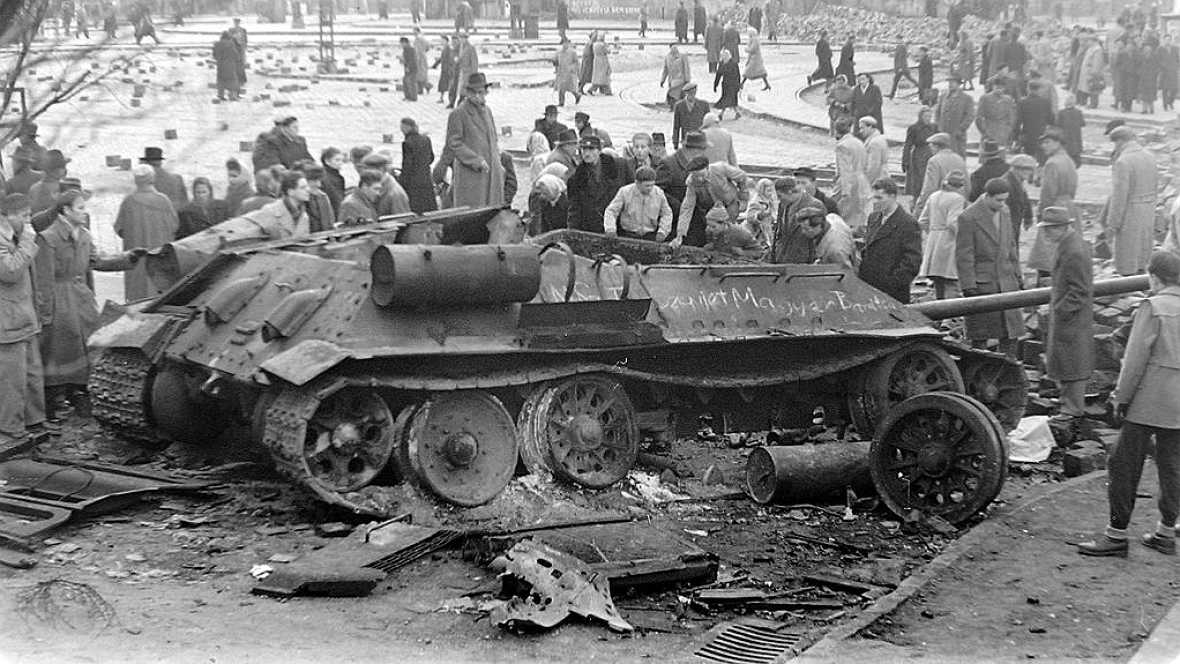 Europa abierta en Radio 5 - Madrid recuerda a los héroes de la revuelta húngara de 1956 - 25/10/16 - Escuchar ahora