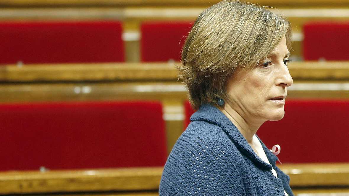 Boletines RNE - El TSJ de Cataluña admite a trámite la querella de la Fiscalía contra Forcadell - 25/10/16 - Escuchar ahora