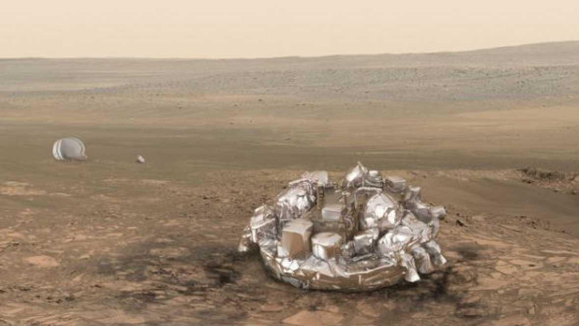 Radio 5 Actualidad - Schiaparelli se estrelló en Marte a más de 300 kilómetros por hora - 28/10/16 - Escuchar ahora