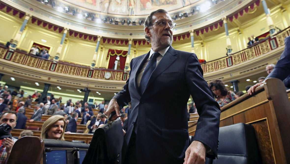 Informativos fin de semana - España a las 8 - Rajoy esta tarde dejará de ser presidente en funciones, pero no se espera que presente su nuevo Gobierno hasta el lunes - Escuchar ahora
