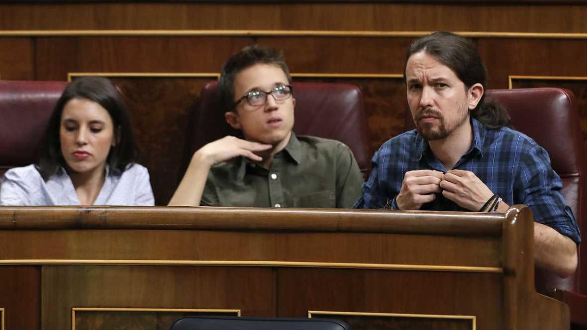 """Informativos fin de semana - Especial investidura - Iglesias: """"quizá el arrenpentimiento de Sánchez sea el no haber pactado con Podemos""""  - Escuchar ahora"""