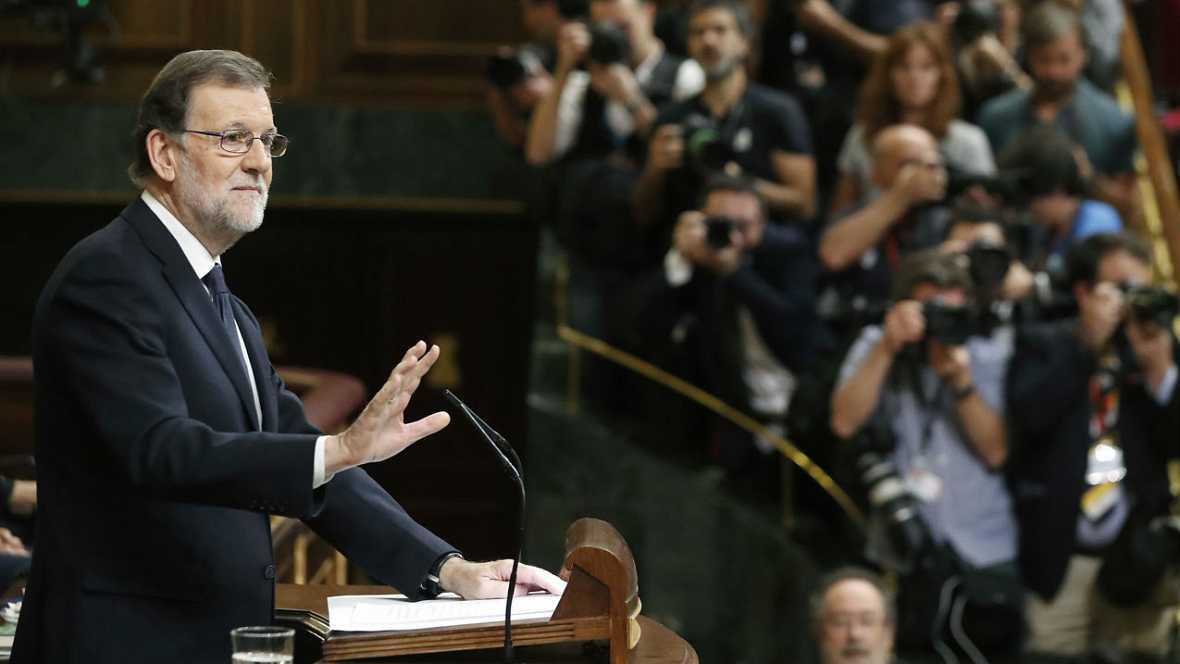 """Informativos fin de semana - Especial investidura - Rajoy reclama """"Un gobierno en condiciones de gobernar, no un gobierno multiusos"""" - Escuchar ahora"""