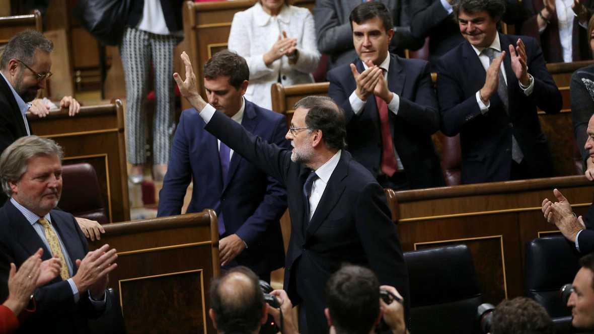 """Informativos fin de semana - 24 horas -Rajoy: """"No pido un cheque en blanco... sí búsqueda de objetivos comunes y esfuerzo para entendernos"""" - Escuchar ahora"""