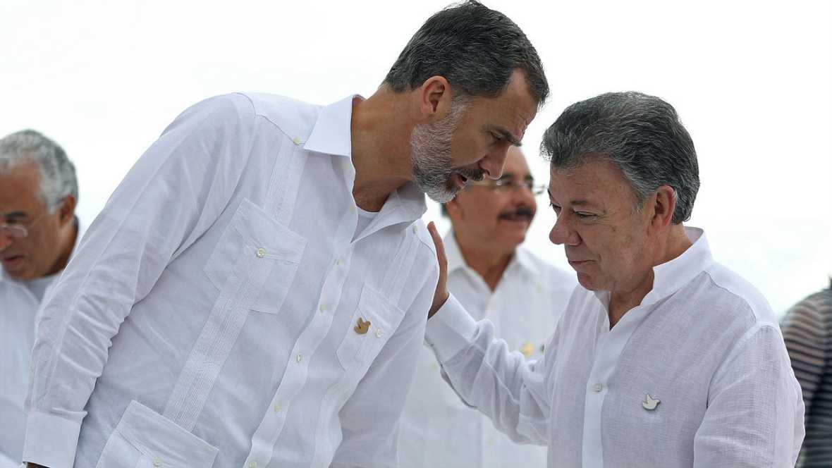"""Informativos fin de semana - 24 horas - La ausencia de Maduro  planeo en la """"cumbre iberoamericana de la paz"""" - Escuchar ahora"""