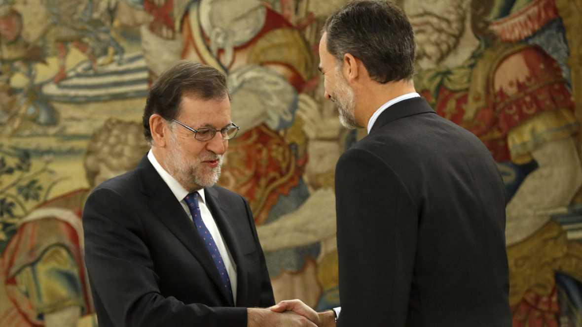 Boletines RNE - Rajoy jura su cargo ante el rey Felipe VI - Escuchar ahora