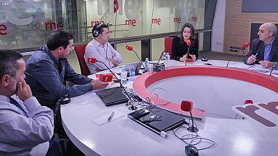 Las mañanas de RNE - Arrimadas pone el apoyo a la clase media y trabajadora como línea roja para apoyar los presupuestos - Escuchar ahora