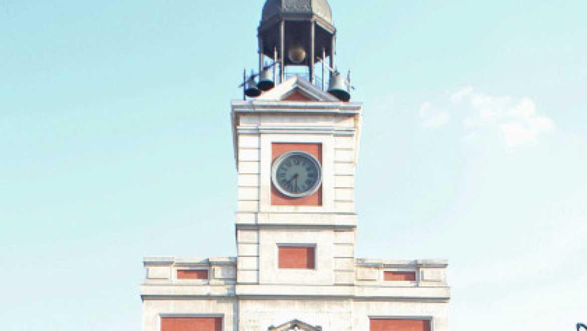 Marca espa a el reloj de la puerta del sol de madrid for El reloj de la puerta del sol