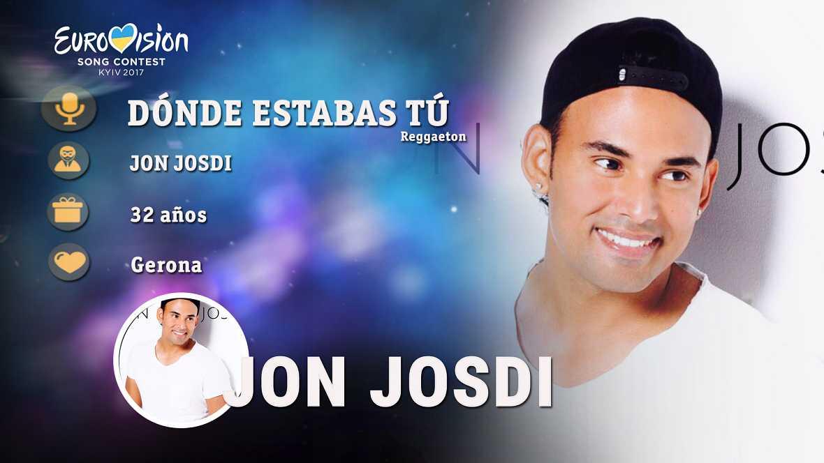 Resultado de imagen de jon josdi eurovision 2017