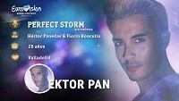 """Eurovisión 2017 - Ektor Pan canta """"Perfect storm"""""""