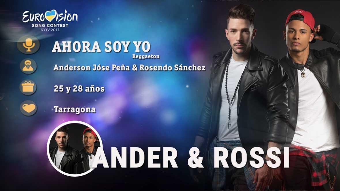 """Ander & Rossi cantan """"Ahora soy yo"""""""