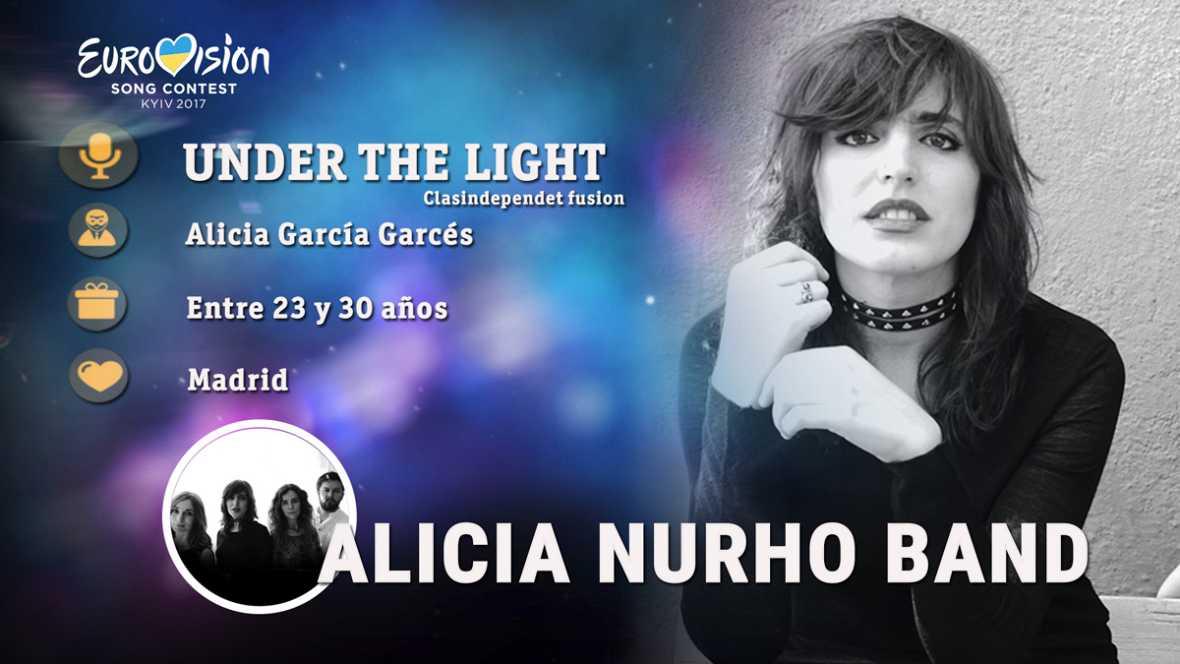 """Eurovisión 2017 - Alicia Nurho Band canta """"Under the light"""""""