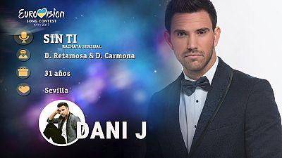 """Eurovisión 2017 - Dani J canta """"Sin ti"""""""