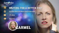 """Eurovisión 2017 - Carmel canta """"Waiting for a better end"""""""