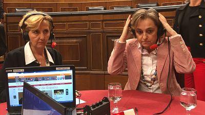 Marca España - Taquígrafas y estenotipistas del Congreso - escuchar ahora