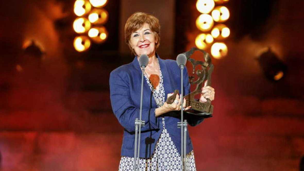 En escena - Concha Velasco, Premio Nacional de Teatro 2016 - 30/11/16 - Escuchar ahora