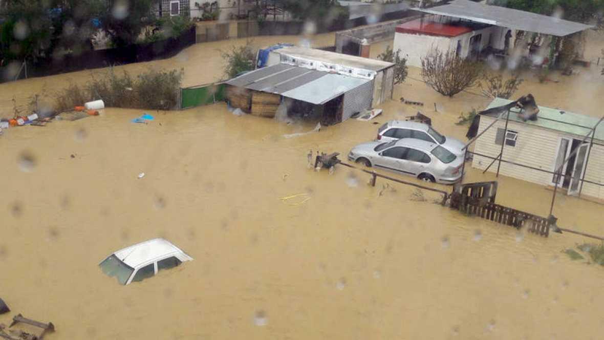 Boletines RNE - Ayudas para las zonas afectadas por las inundaciones - Escuchar ahora