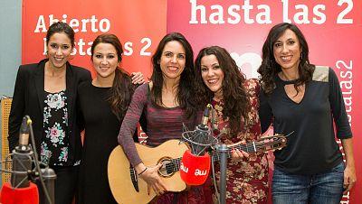 """Abierto hasta las 2 - Las Migas: """"Cada tema de Vente conmigo es un viaje"""" - 11/12/16 - escuchar ahora"""