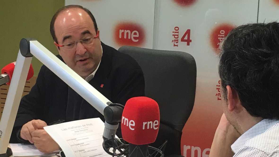 Las mañanas de RNE - Iceta espera que el congreso del PSOE sea en primavera - Escuchar ahora