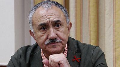"""Las mañanas de RNE - Pepe Álvarez (UGT): """"Es una legislatura en la que hay que recuperar derechos"""" - Escuchar ahora"""