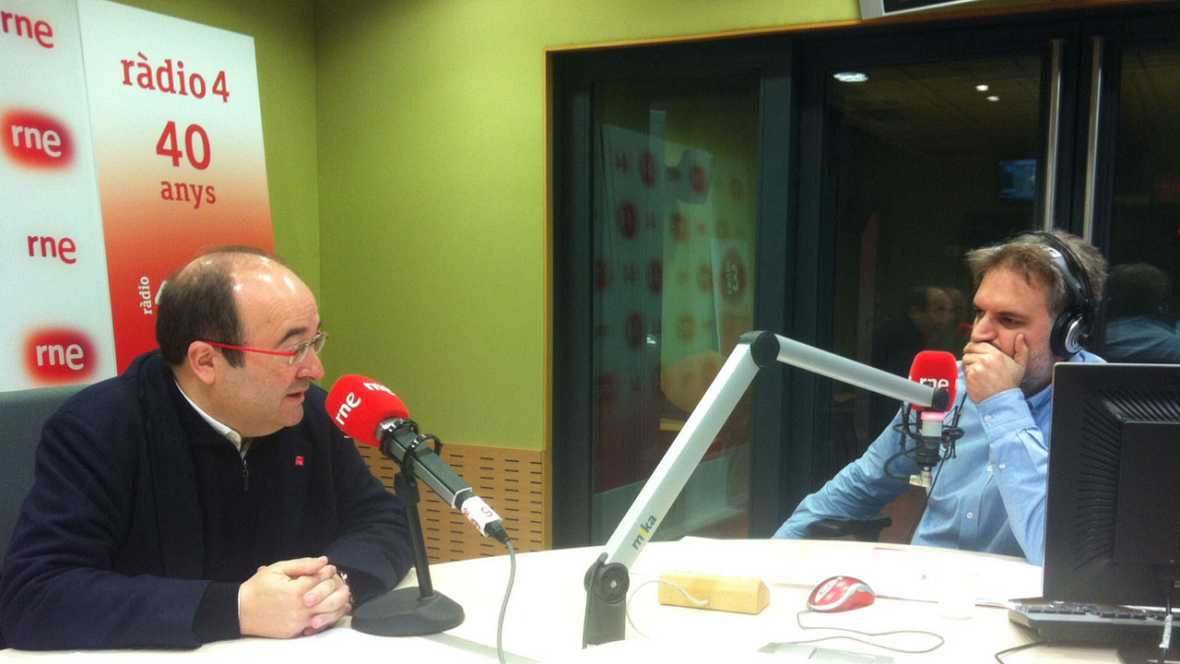 El matí a Ràdio 4 - Entrevistem Miquel Iceta, primer secretari del PSC