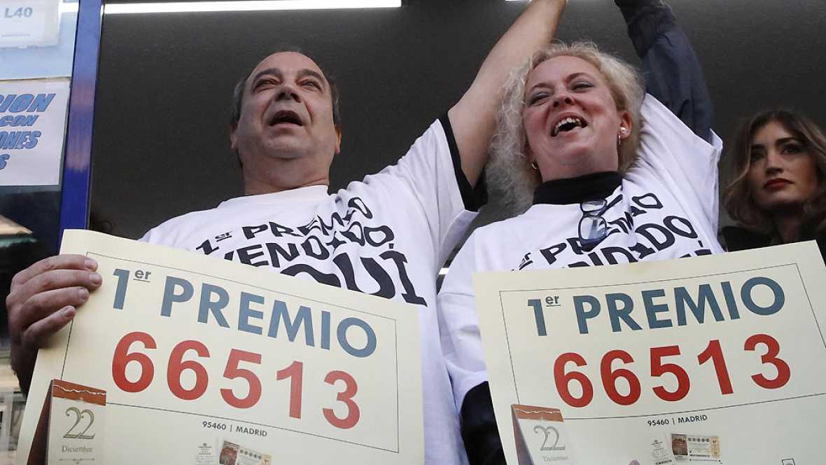 Las mañanas de RNE - Primer premio, 66.513, íntegro para Madrid - 22/12/16 - Escuchar ahora