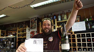 Las mañanas de RNE - El premio gordo en un bar de la calle Acacias de Madrid - 22/12/16 - Escuchar ahora