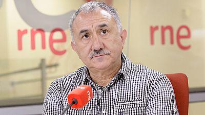 Las mañanas de RNE - Pepe Álvarez aboga por que los presupuestos sirvan para revisar la política económica del Gobierno - Escuchar ahora