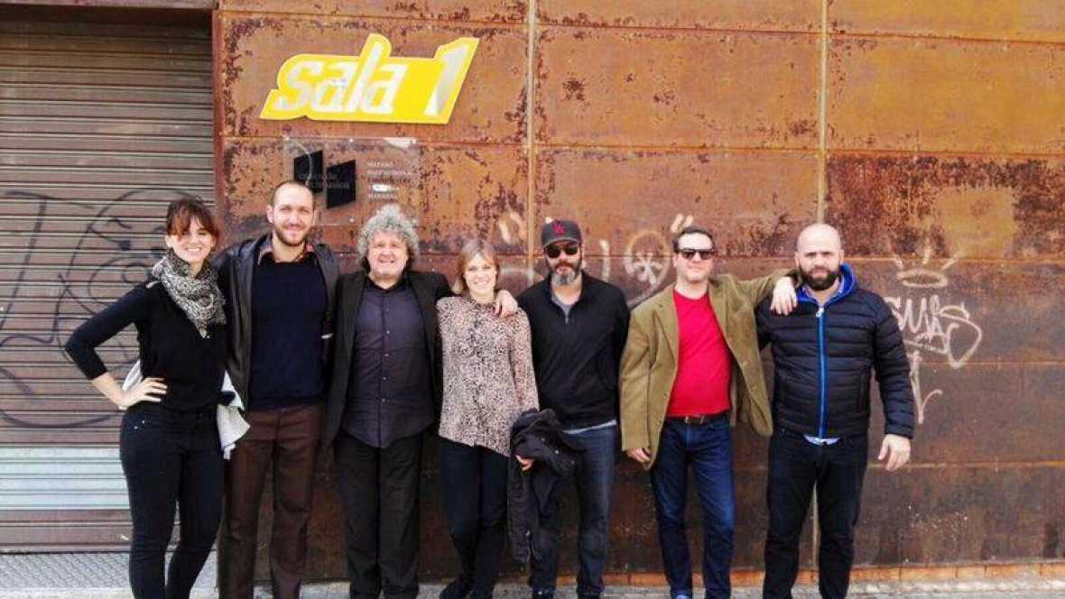 Disco Grande - Delafé en Barcelona - 02/01/17 - escuchar ahora