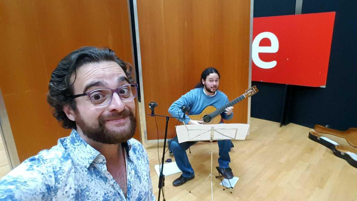 Estudio 206 - Flavio Ferri-Benedetti (contratenor) y Daniel Guerola Benito (guitarra) - 13/01/17 - escuchar ahora