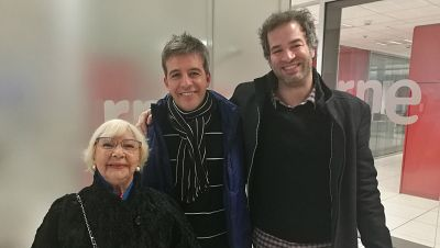 La sala - La 'Felicidad' en teatro y la experiencia de Carles Castillo y Antoñita, viuda de Ruiz - 14/01/17 - escuchar ahora