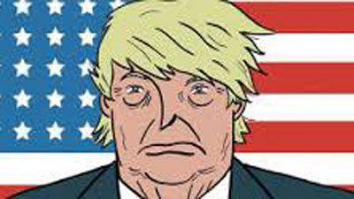 Territori clandestí - Presidente Trump, Dios perdone a América : un còmic de Pablo Rios