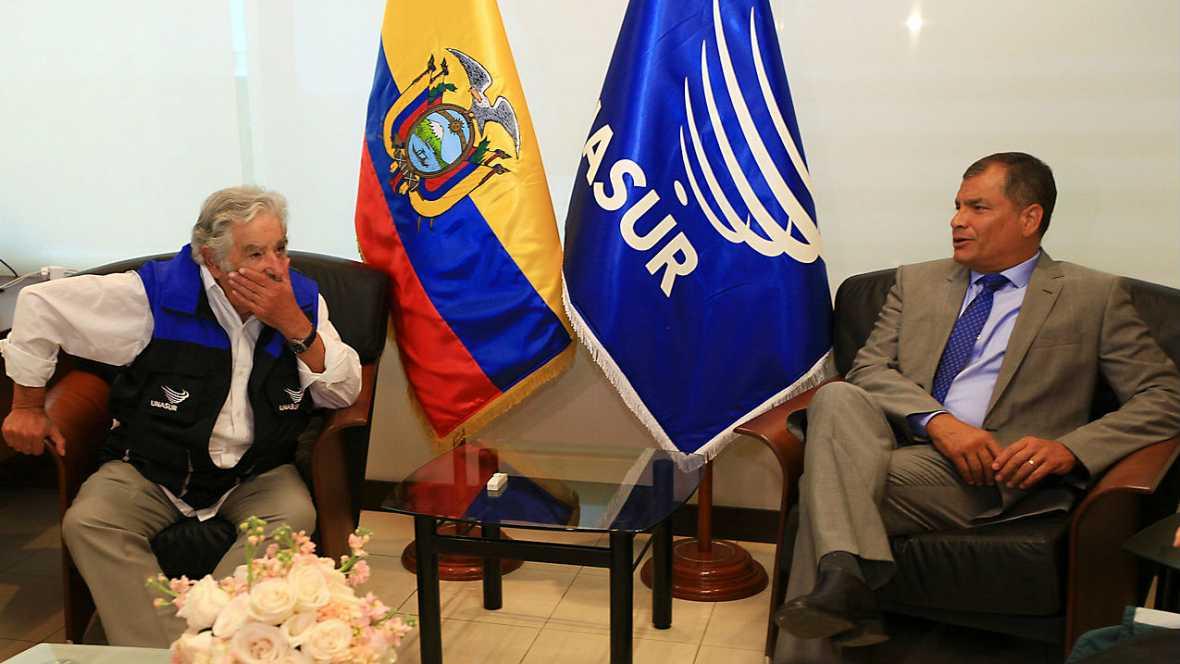 Informativos fin de semana - 24 horas - Elecciones en Ecuador para poner fin a un ciclo político que dura 10 años - Escuchar ahora