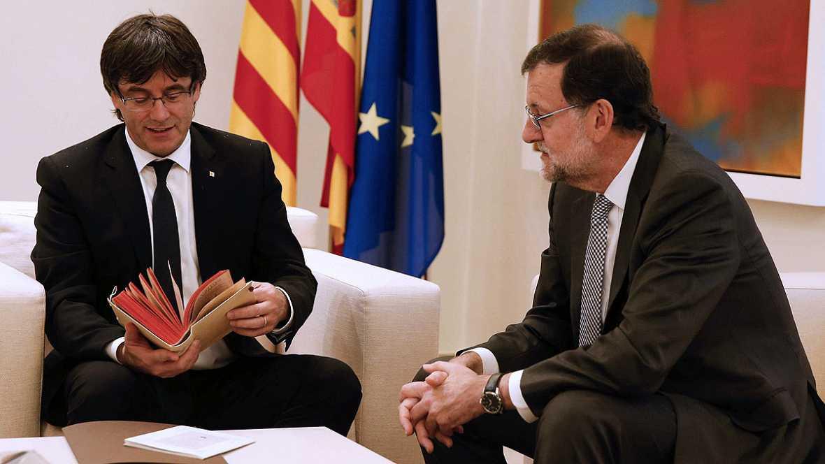 Rajoy tiene una propuesta con 45 medidas para Cataluña que no incluye el referéndum