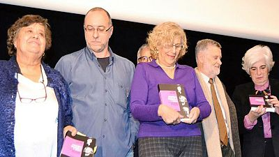 Llibres, píxels i valors - Oblidades a la G. Civil. Cristina, Manuela y Paca. 3 vidas cruzadas, entre la justícia y el compromiso
