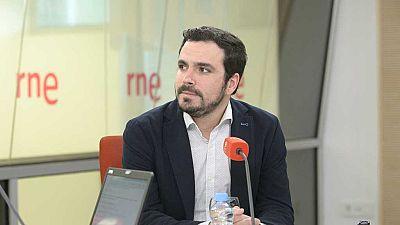 """Las mañanas de RNE - Alberto Garzón: """"Hay que normalizar el diálogo entre el Gobierno y la Generalitat de Cataluña"""" - Escuchar ahora"""