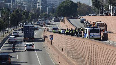 Diario de las 2 - Detenido a tiros el conductor de un camión en Barcelona - Escuchar ahora