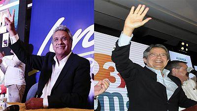 América hoy - Lenín Moreno y Guillermo Lasso se disputarán la presidencia de Ecuador el 2 de abril - 23/02/17 - escuchar ahora