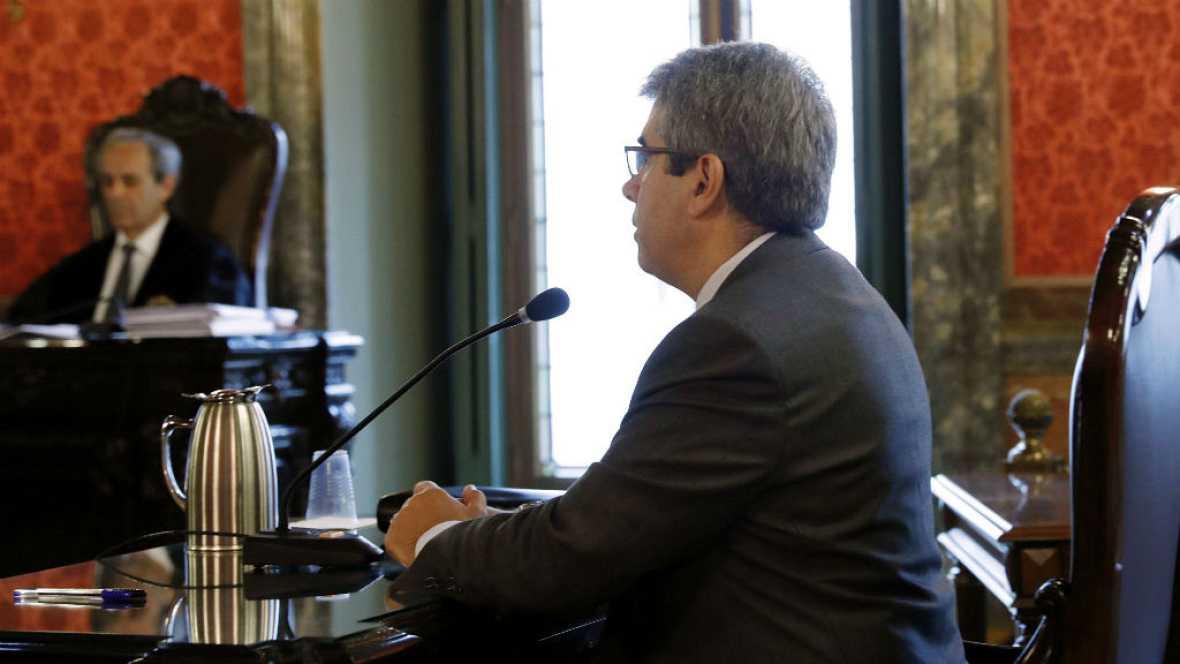 Diario de las 2 - Homs reconoce que la Generalitat conocía la prohibición del 9N - Escuchar ahora