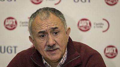 """24 horas - Pepe Álvarez: """"UGT no firmará ningún aumento salarial por debajo del 1,8%"""" - 01/03/17 - Escuchar ahora"""
