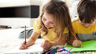 El canto del grillo - ¿Qué dice un niño en sus dibujos? - Escuchar ahora