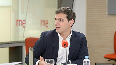Las mañanas de RNE - Albert Rivera espera que el PP rectifique y proponga un candidato alternativo en Murcia - Escuchar ahora
