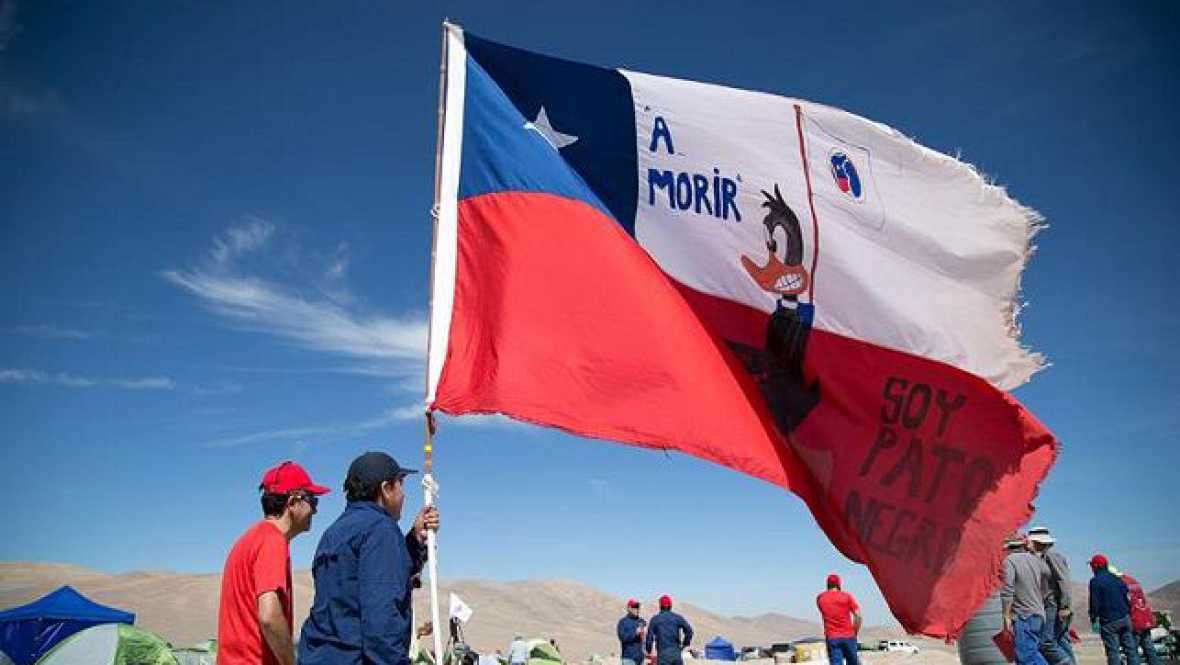 América hoy - Huelga en Minera Escondida, la mina de cobre más grande del mudo - 17/03/17 - escuchar ahora
