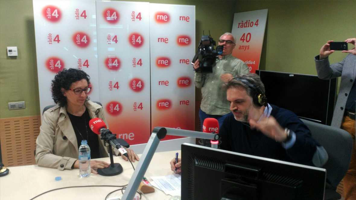 El matí a Ràdio 4 - Entrevista a Marta Rovira (ERC)