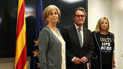 Las mañanas de RNE - Mas, Ortega y Rigau asisten a la reunión del Gobierno catalán - Escuchar ahora
