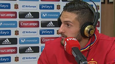 """Radiogaceta de los deportes - Koke: """"Nos jugamos ir al Mundial, no podemos especular"""" - 22/03/17 - Escuchar ahora"""